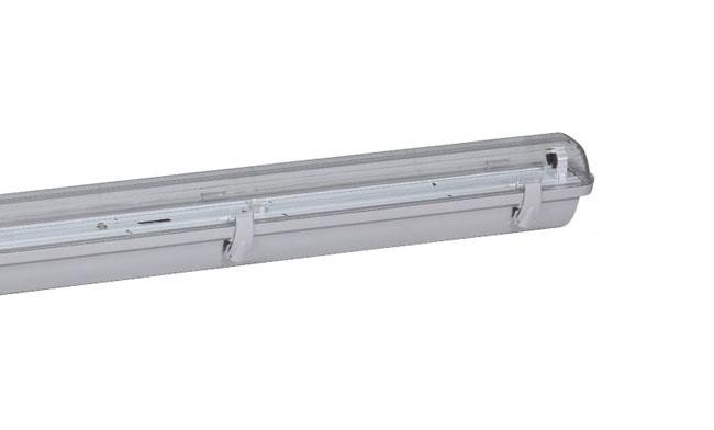 T5灯管支架 1x14W  三防灯单支支架610x60x80mm