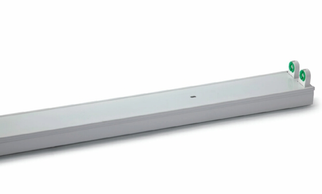 T8  2X40W  电感/电子 双支平盖支架/宽壳体1230X84X70mm