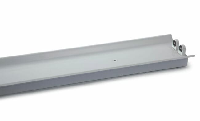 T8  2X18W LED灯管支架  双支带罩支架/宽壳体1232X165X70mm