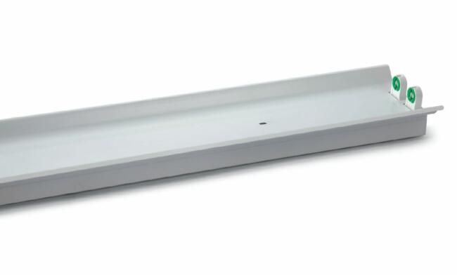 T8  2x20W 电感/电子  双支带罩支架/宽壳体620X170X70mm