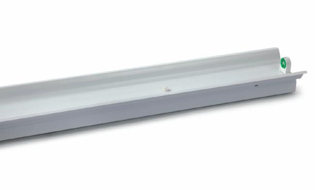 T8 1x40W 电感/电子  单支带罩支架1230X125X70mm
