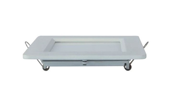 6W 方形压铸 LED面板灯 开孔90x90mm 白光中性光黄光