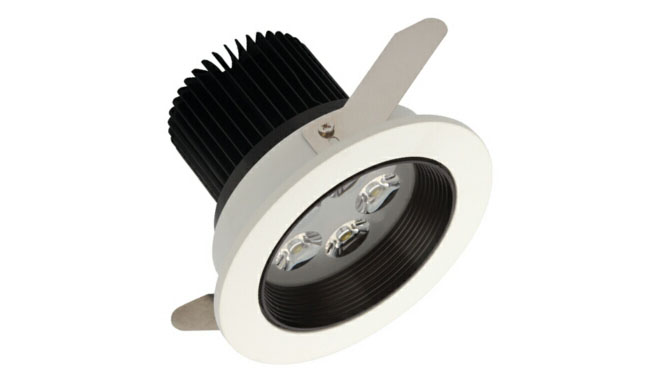 LED 5W车铝筒灯开孔98mm  黄光/白光/中性光