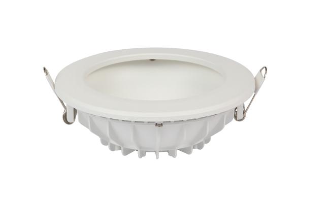 12W圆形漫反射 LED筒灯开孔¢135mm黄光/白光/中性光