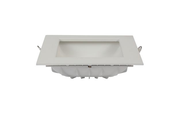 12W方形漫反射 LED筒灯开孔135*135mm黄光/白光/中性光