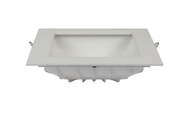 20W方形漫反射 LED筒灯开孔155x155mm黄光/白光/中性光