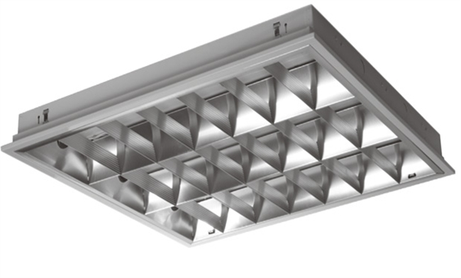 T5 3x14W 高光效格栅灯盘 600x600mm 嵌入式/吸顶式