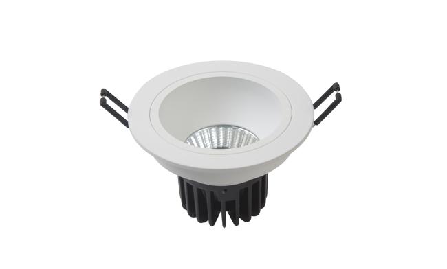 LED 3寸7W COB深孔筒灯009系列开孔100mm 黄光/白光/中性光