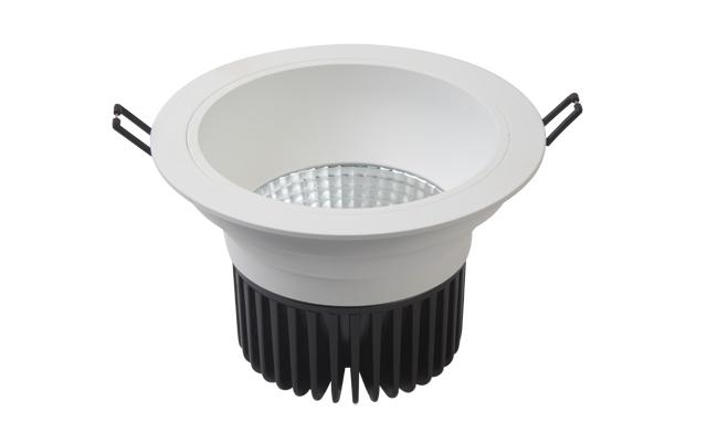 LED 5寸 15W cob深孔筒灯009系列开孔150mm 黄光/白光/中性光