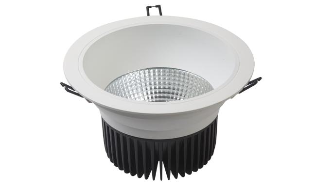 LED 8寸 24W cob深孔筒灯009系列开孔200mm 黄光/白光/中性光