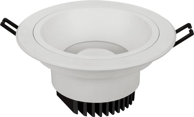 LED 11W COB深孔嵌灯 开孔120mm  黄光/白光/中性光