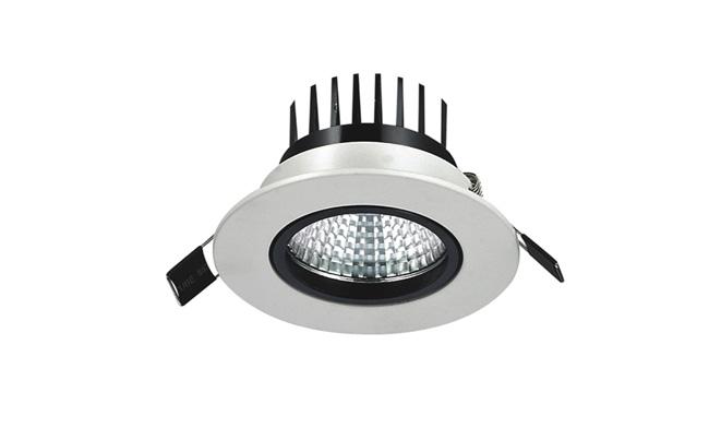 LED  5W COB 天花灯开孔75mm  黄光白光中性光
