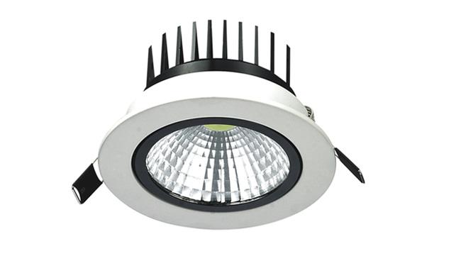LED  5W COB 天花灯开孔95mm  黄光白光中性光