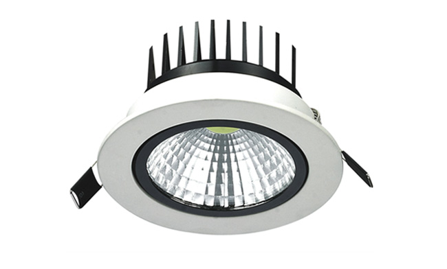 LED  7W COB 天花灯开孔95mm  黄光白光中性光