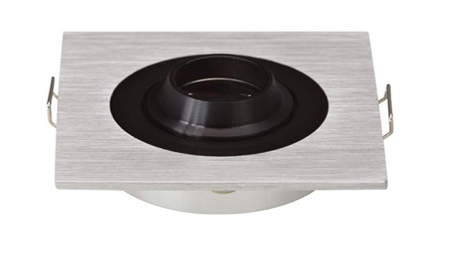 LED G03系列单头(带猪嘴)开孔50mm射灯格栅射灯