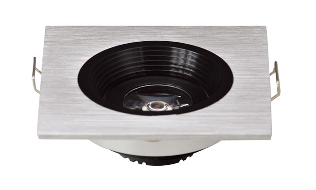 LED G04系列单头(防眩光)开孔50mm格栅射灯
