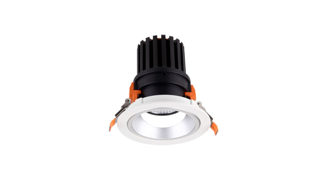 LED 9W COB洗墙筒灯015系列开孔尺寸97mm