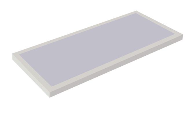 T8 3x40W 乳白/深花灯盘 600x1200mm  605x1205mm 推拉式/卡扣式结构