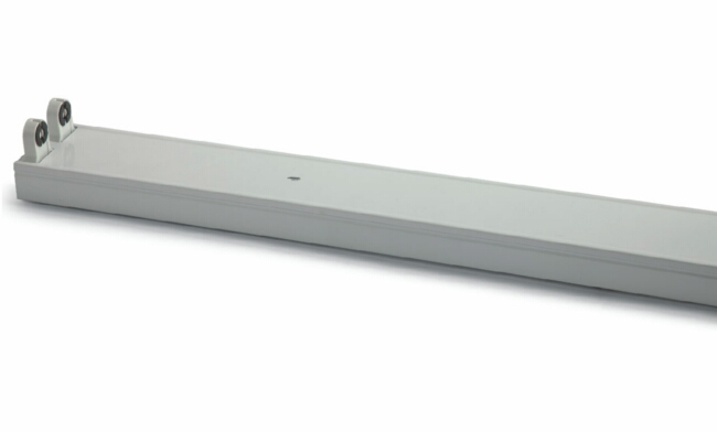 T8  2X30W 电感/电子 双支平盖支架/宽壳体925X84X70mm