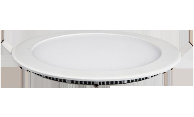超薄LED面板灯 20W 圆形 开孔225mm  白光中性光黄光