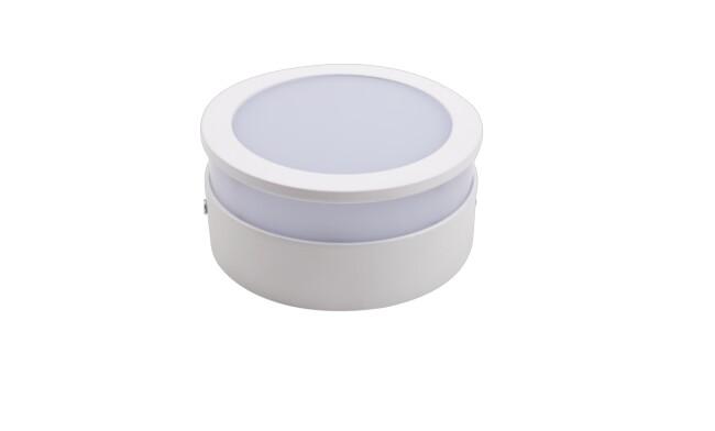 LED明装面板灯圆形12W 白光 020系列