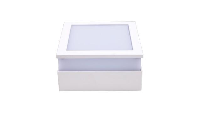 LED明装面板灯方形12W  白光 021系列