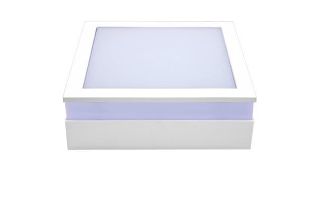 LED明装面板灯方形18W  白光 021系列