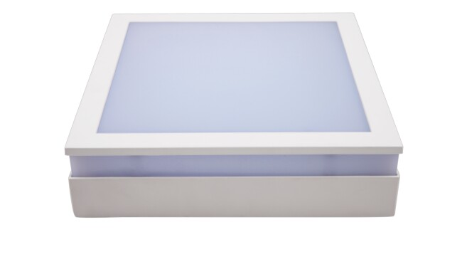 LED明装面板灯方形24W  白光 021系列