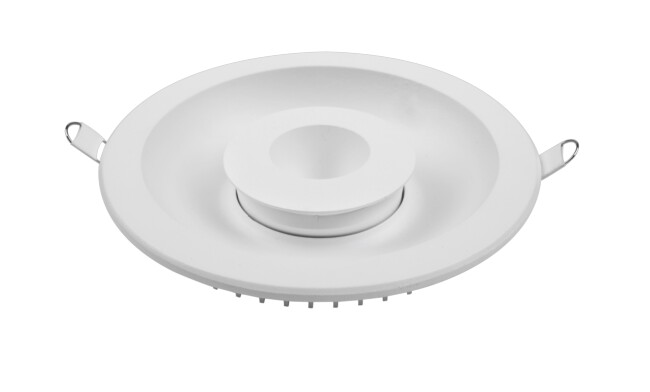 LED 24W双色圆形漫反射筒灯 开孔¢155mm 可分段控制光色