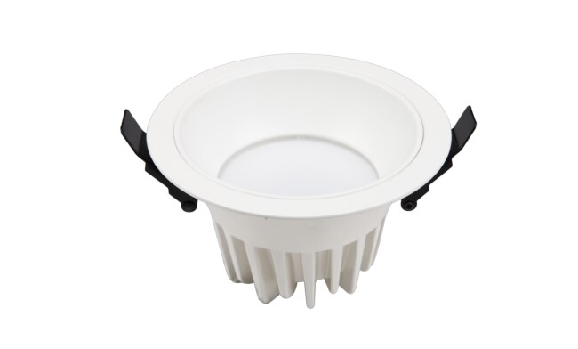 LED 4寸12W防眩光筒灯 开孔¢120mm 黄光/白光/中性光