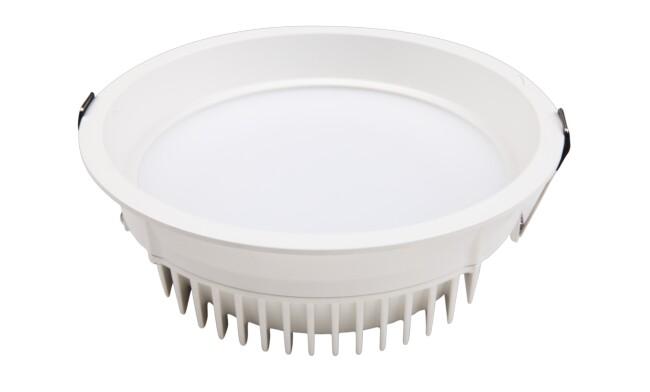 LED 8寸20W圆形筒灯 开孔¢200mm 黄光/白光/中性光