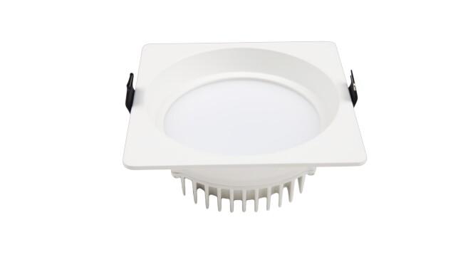 LED 4寸9W方形筒灯 开孔¢120mm 黄光/白光/中性光