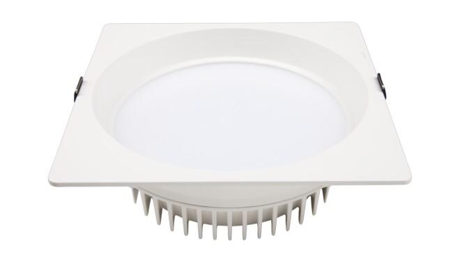 LED 8寸20W方形筒灯 开孔¢200mm 黄光/白光/中性光
