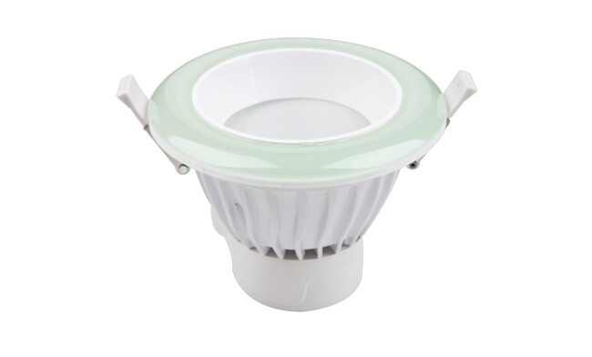 LED 4寸9W光韵筒灯 开孔¢135mm 可分段控制色温