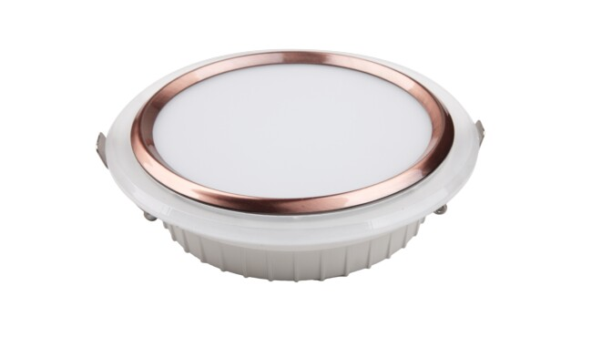 LED 12W圆形筒灯 开孔¢125mm 黄光白光中性光