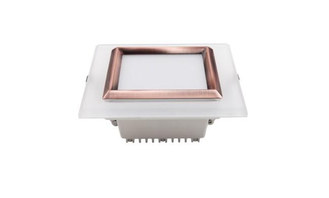 LED 9W方形筒灯 开孔105x105mm 黄光白光中性光