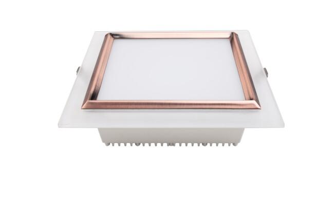 LED 12W方形筒灯 开孔125x125mm 黄光白光中性光
