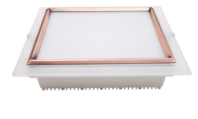 LED 18W方形筒灯 开孔160x160mm 黄光白光中性光