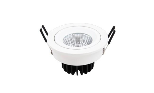7W LED嵌灯 开孔¢95mm 黄光白光中性光