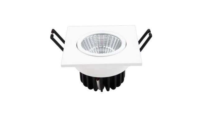 7W LED方形嵌灯 开孔¢70mm 黄光白光中性光