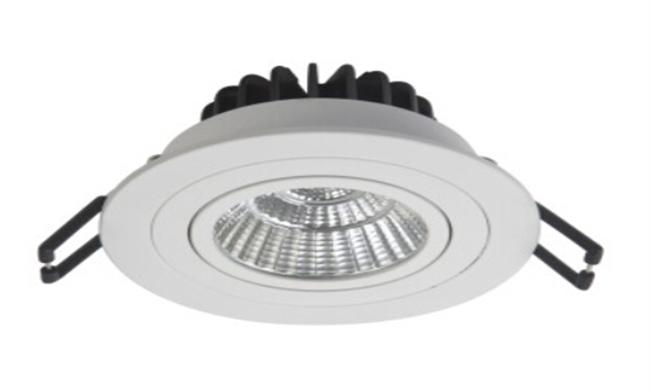 LED 7W COB嵌灯可调角度 开孔80mm 黄光白光中性光