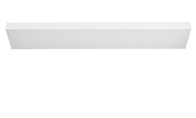LED办公吊线灯 36W 200X1200mm 白色/黑色 白光中性光黄光