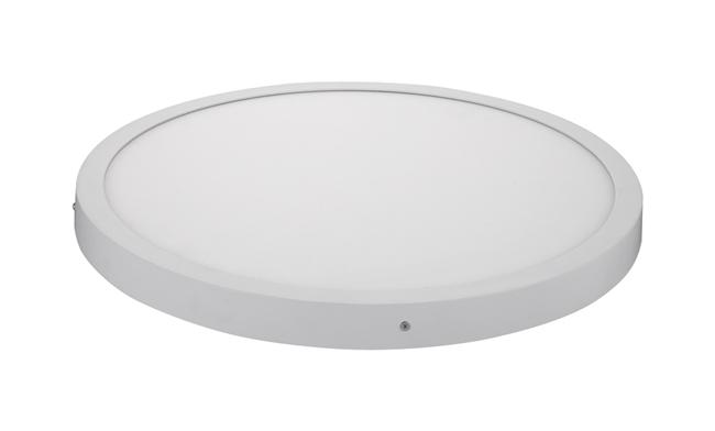 40W 圆形明装LED面板灯 Φ500X40mm 白光中性光黄光
