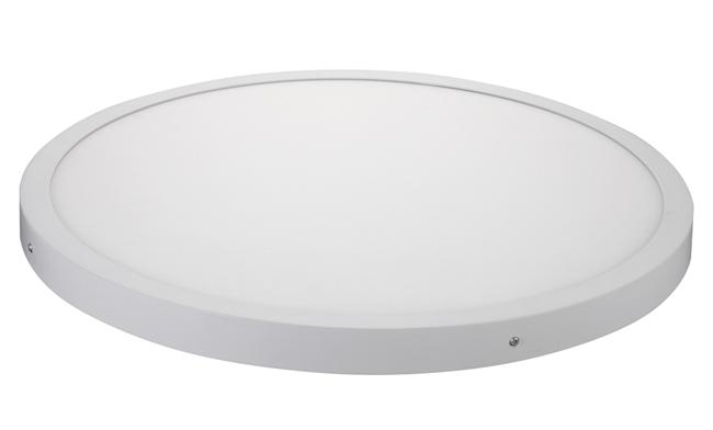 48W 圆形明装LED面板灯 Φ600X40mm 白光中性光黄光