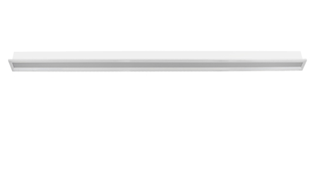 1200x80x60mm LED嵌入智能线条灯 18W/白色
