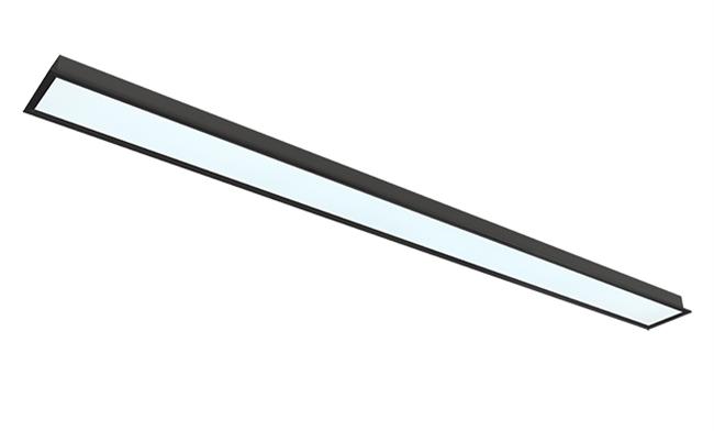 72W LED线槽灯 200X2400mm 黑色 白光中性光黄光