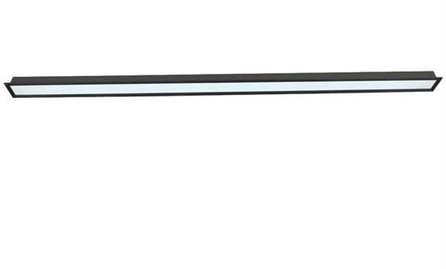 36W LED线槽灯 80X2400mm 黑色 白光中性光黄光