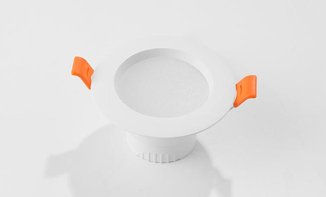 "2.5""一体化双色筒灯 调光调色LED筒灯 开孔 ¢75mm"