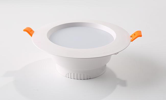 "3.5""一体化双色筒灯 调光调色LED筒灯 开孔 ¢95mm"