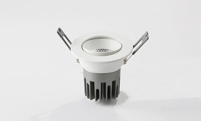 2.5寸双色嵌灯 调光调色LED筒灯 开孔 ¢75mm